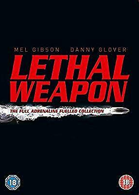 Lethal Weapon : The Complete Collection (4 Disc Box Set) [1987] [DVD] [2005], ,