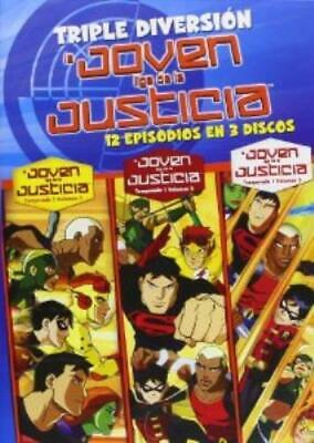 Young Justice Season One Complete Volumes 1 2 3 Dvd Box Set New Sealed 18 99 Picclick Uk