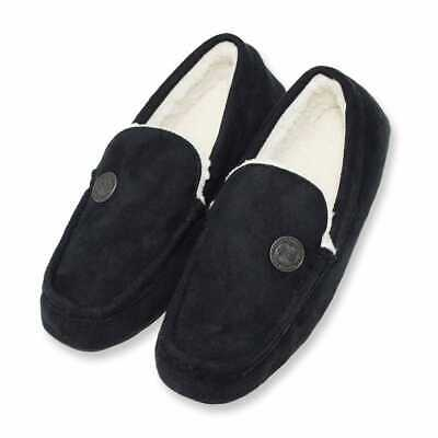 Official Licensed Black Celtic Fc  Slippers Adults Choice Of Sizes Moccasins