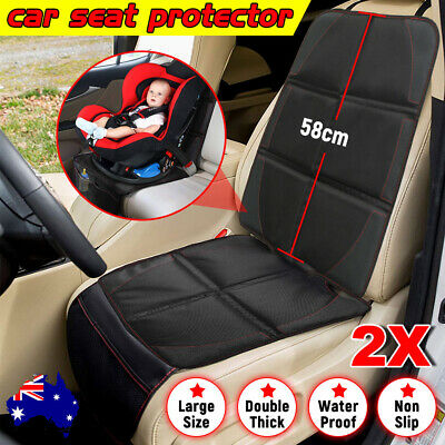 Antislip Waterproof Baby Dog Car Seat Protector Back Cover Cushion Pad Organizer