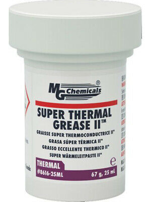 MG Chemicals Super Thermal Grease II, High Thermal Conductivity 25ml (8616-25ML)