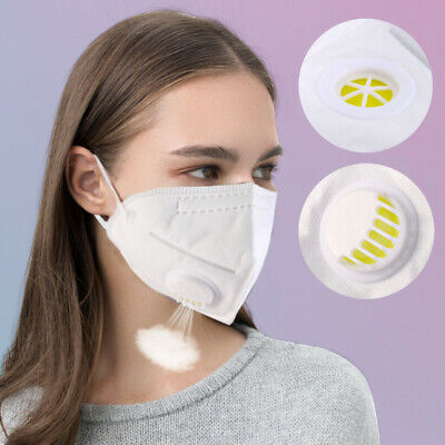 Pro PM2.5 Air Dust Mask Respirator Anti Pollution Face Masks Washable & Reusable