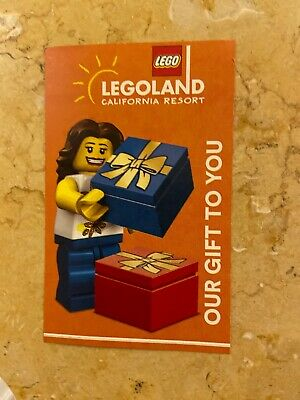 Legoland California One Day SeaLife Hopper Ticket VALID ONLY 9/3-11/22 2019