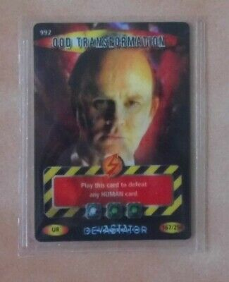 Dr Doctor Who BATTLES IN TIME Devastator ULTRA RARE CARD 992 OOD TRANSFORMATION
