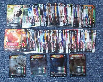 Dr Who Battles in Time 115 Different ULTIMATE MONSTERS Cards Set (inc. 5 Rare)