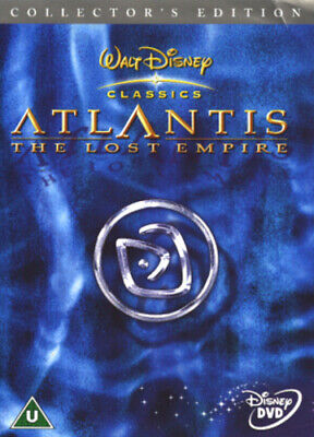Atlantis - The Lost Empire DVD (2002) Gary Trousdale cert U 2 discs Great Value