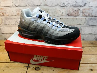 Mens Nike Air Max 95 Multi Leather Mesh Retro Sports Sneakers Trainers Size Uk 9