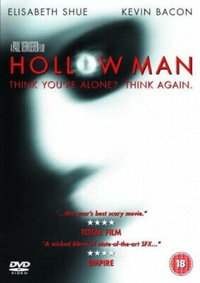 Hollow Man DVD (2001) Kevin Bacon, Verhoeven (DIR) cert 18 Fast and FREE P & P