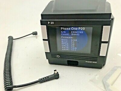 Phase One P20 digital film magazine for direct use with Hasselblad V system