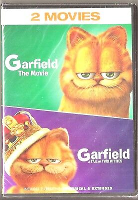 Garfield The Movie Family Children S Movie Dvd Full Screen Wide Screen 1 98 Picclick