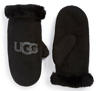 UGG Gloves Heritage Logo Mittens Colors Sizes NEW $155