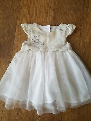 Mothercare Humphreys Corner Baby Girls Dress Age Up To 3 Months