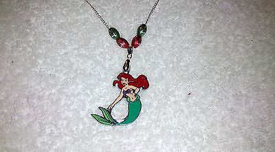DISNEY ARIEL The LITTLE MERMAID NECKLACE Party Bag Gift