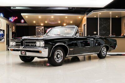1964 Pontiac GTO Convertible Frame Off Build! Pontiac 461ci Stroker V8, TKO600 5-Speed Manual, PS, A/C