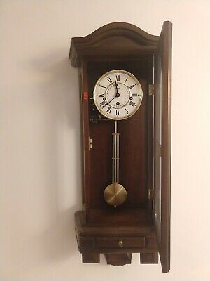 Hermle Antique Pendulum Wall Clock, with Westminster chime, good condition