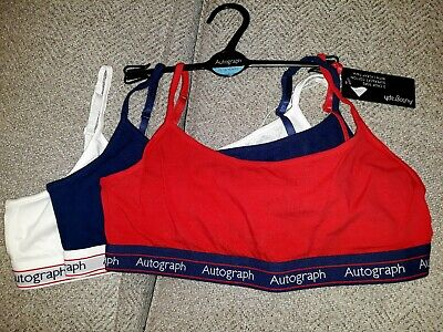 M & S Autograph - Pack Of 3 Crop Tops - Age 15-16 - BNWT