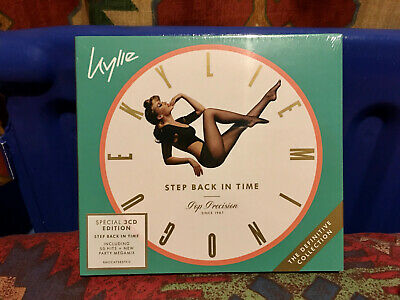 *NEW* Kylie Minogue: Step Back In Time The Definitive Collection (3-CD Edition)