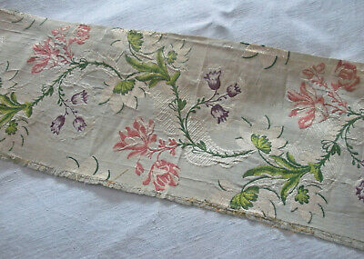 Length of Beautiful Antique 18thC French Silk Damask