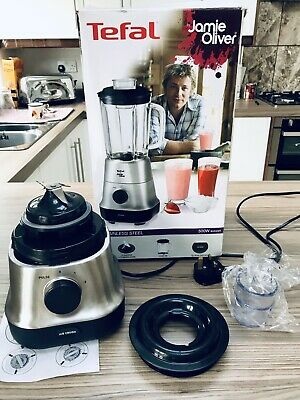 TEFAL By JAMIE OLIVER 'BLENDER/LIQUIDISER' Motor Unit, Blades, Lid & Tube ONLY