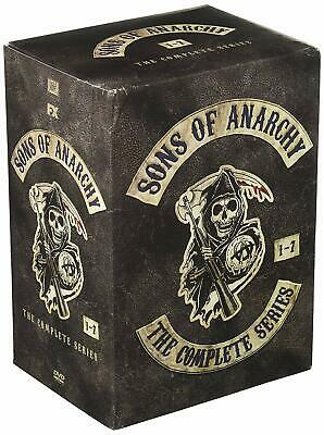 SONS of ANARCHY The Complete Series. includes all seven seasons.  DVD.