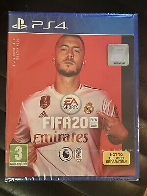 FIFA 2020 PS4 PLAYSTATION Game *** GENUINE *** Brand New - SEALED ***