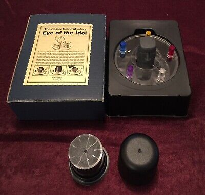 Vintage Magic Trick - Tenyo The Easter Island Mystery Eye Of The Idol T-173