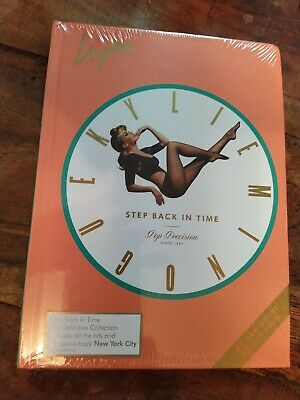 Kylie Minogue Step Back In Time Definitive Collection 2xCD Book New