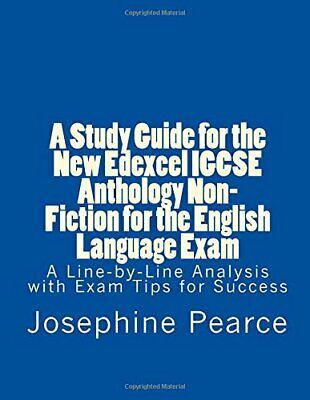 A Study Guide for the New Edexcel IGCSE Anthology Non... by Pearce, Ms Josephine