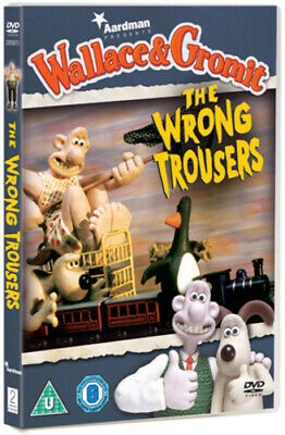 Wallace and Gromit: The Wrong Trousers DVD (2012) Nick Park cert U Amazing Value