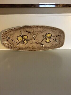 GORGEOUS Holland Mold ceramic Floral plate serving tray