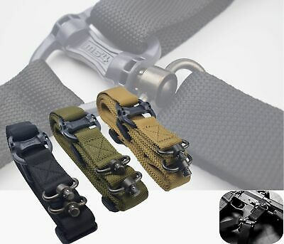 "Adjust Retro Tactical Quick Detach QD 1 or 2Point Multi Mission 1.2"" Rifle Sling"
