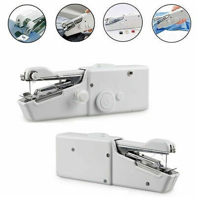 Mini Electric Portable Handheld Sewing Machine Travel Home Stitch Sew Clothes