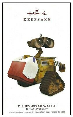 2018 Hallmark Disney Pixar WALL-E 10th Anniversary Keepsake Ornament!
