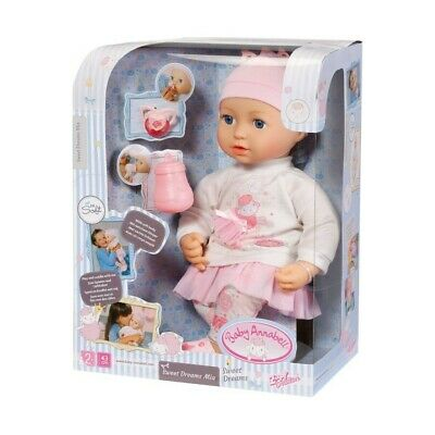 Baby Annabell Sweet Dreams Mia Brand New In Box For Ages 2 Years And Up