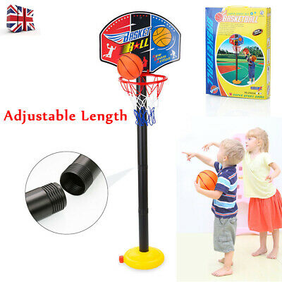 Free Standing Basketball Hoop Net Adjustable Rack Kids Backboard Set Indoor Home