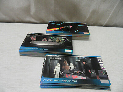 Bundle of 110 Topps Widevision Star Wars Cards