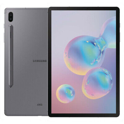 Samsung Galaxy Tab S6 - 128GB - Wi-Fi Only - 10.5 in - Mountain Gray - (A)