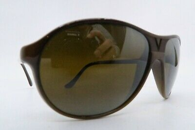 Vintage Vuarnet Pouilloux sunglasses brown Mod 085 etched lens made in France