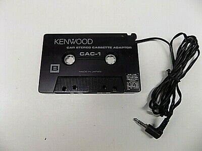 Kenwood CAC-1 Car Connecting Pack Cassette Adapter For Walkman Mp3 iPod