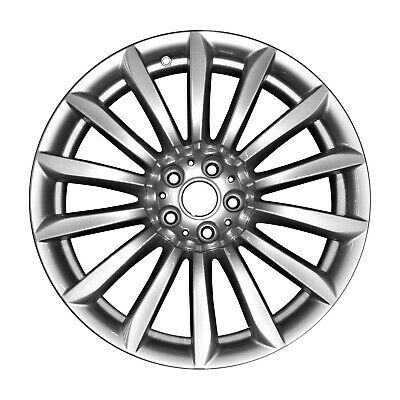 86277 Used OEM Factory Aluminum 19x8.5 Front Wheel Silver Painted