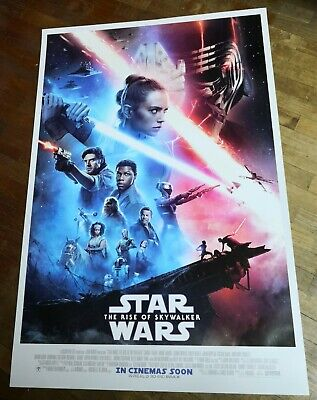 Star Wars THE RISE OF SKYWALKER 2019 Orig INTL 27x40 Double Sided Movie Poster B