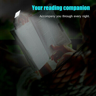 USB Rechargeable LED Book Light Flexible Clip On Night Reading Lamp Hot