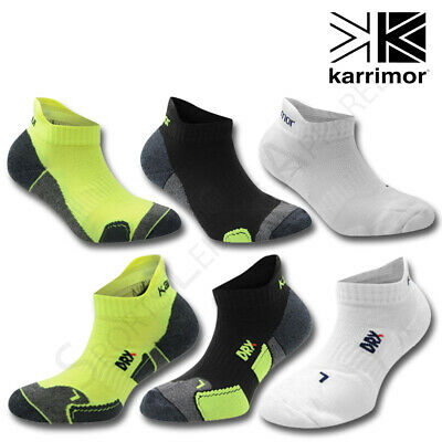 Boys Socks Karrimor 2 Pair Pack Junior Kids Trainer Ankle Padded Sports Running