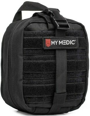 NEW My Medic The MYFAK Advanced Emergency First Aid Kit Black