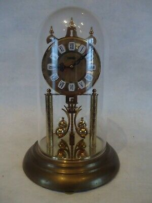 Vintage Haller 400 Day Anniversary Clock. Spares Or Repair.