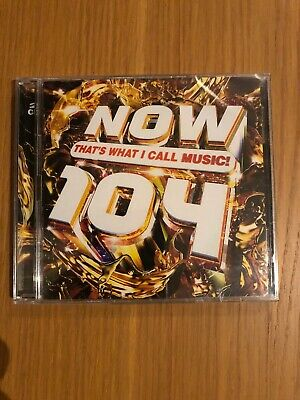 Now that's what i call music 104 (CD 2019) New And Sealed