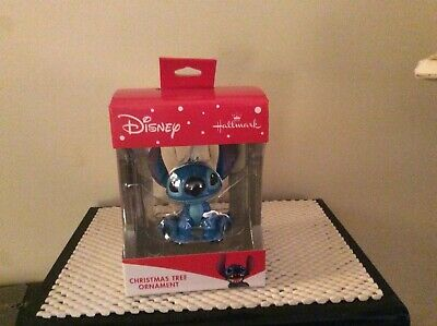 Hallmark 2019 Red Box Ornament Disney's LILO and STITCH-NIB
