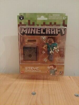Minecraft Series 4 Figure Steve With Arrows