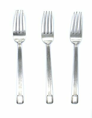 Antique Art Deco Tiffany & Co Century Pattern Forks Set Of 3 Sterling Silver