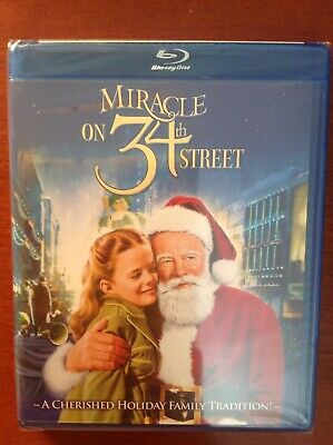 Miracle on 34th Street [Blu-ray] Maureen O'Hara NEW! Christmas Classics